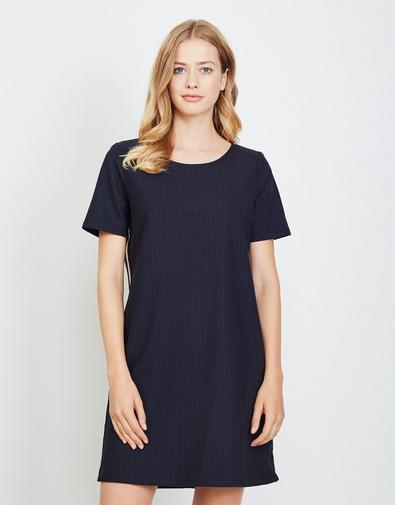 Nachtblauwe jurk